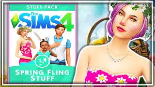 The Sims 4 | Spring Fling Fanmade Stuff Pack!