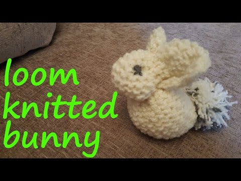 Loom Knitted Bunny Youtube