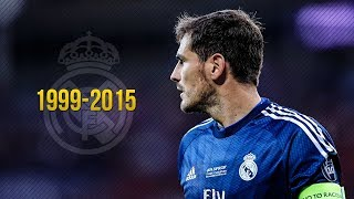 Iker Casillas ● Fantastic Saves ● Real Madrid 1999-2015 | HD