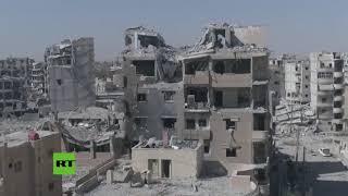 La devastación de Raqa grabada por un dron