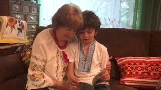 Watch Michael, Age 9, Dedicate Book to Vera, His Immigrant Grandma