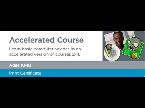 Code.org Accelerated Course , Stage 13,