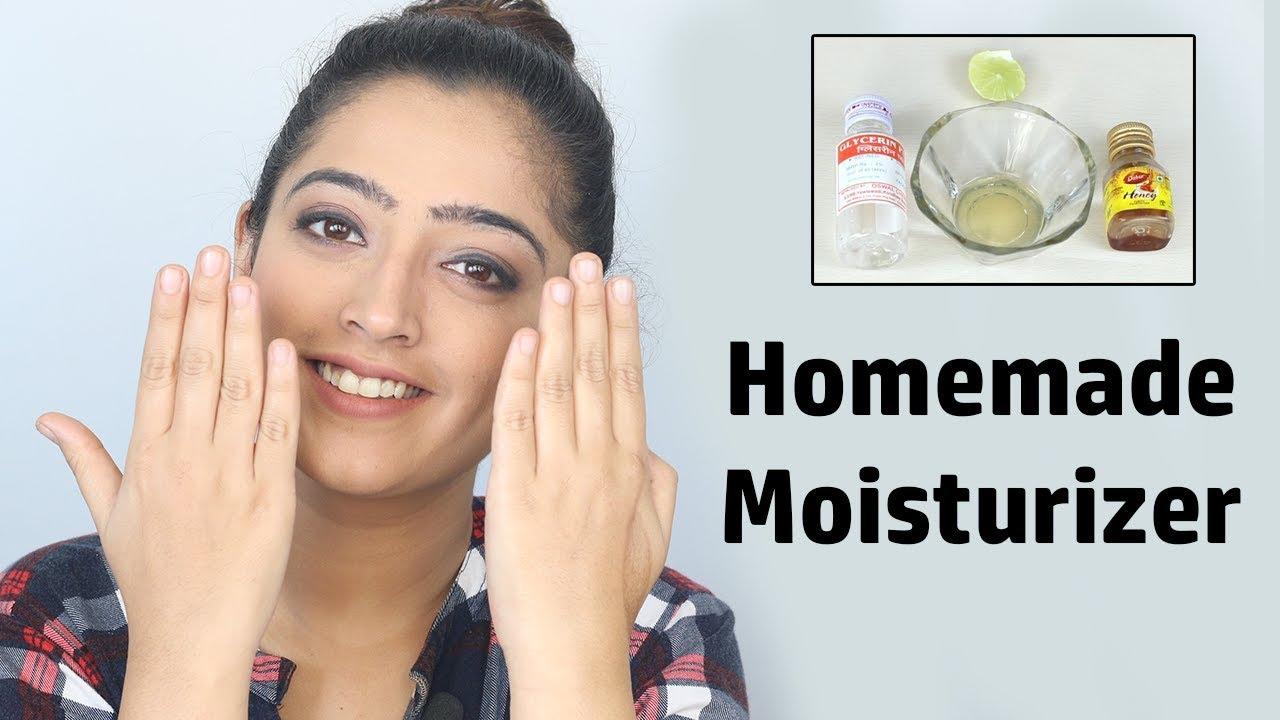 face moisturizer homemade