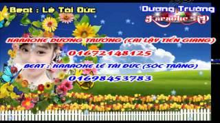 [Karaoke Nhạc Sống] Giọt Lệ Đài Trang (Beat Tài Đức) Full