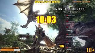 [18+] Шон играет в Monster Hunter World (PS4)