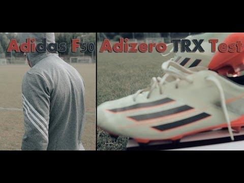 Adidas F50 Adizero TRX FG Mint Orange - Bale & Benzema Boots Test!