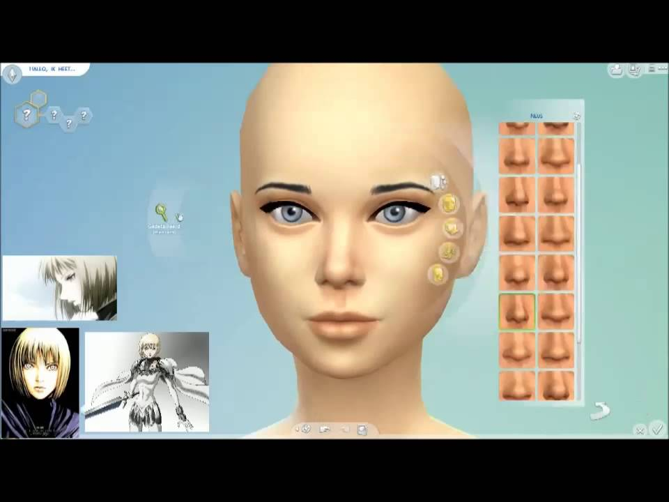 Sims 3 Anime Characters : The sims creating anime character episode claire