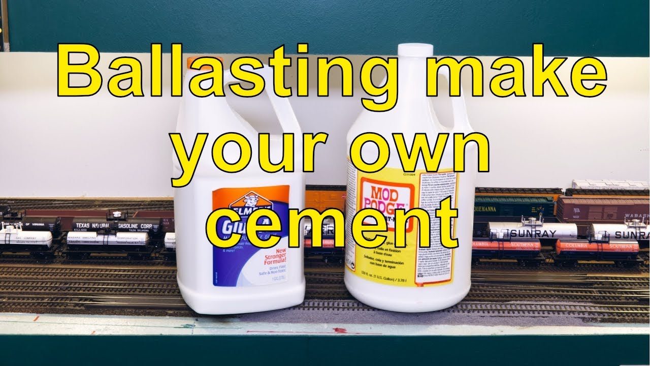Ballasting Make Your Own Cement