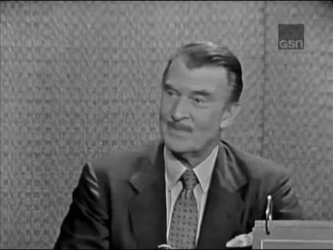 What's My Line? - Walter Pidgeon; Martin Gabel [panel] (Jul 8, 1962)