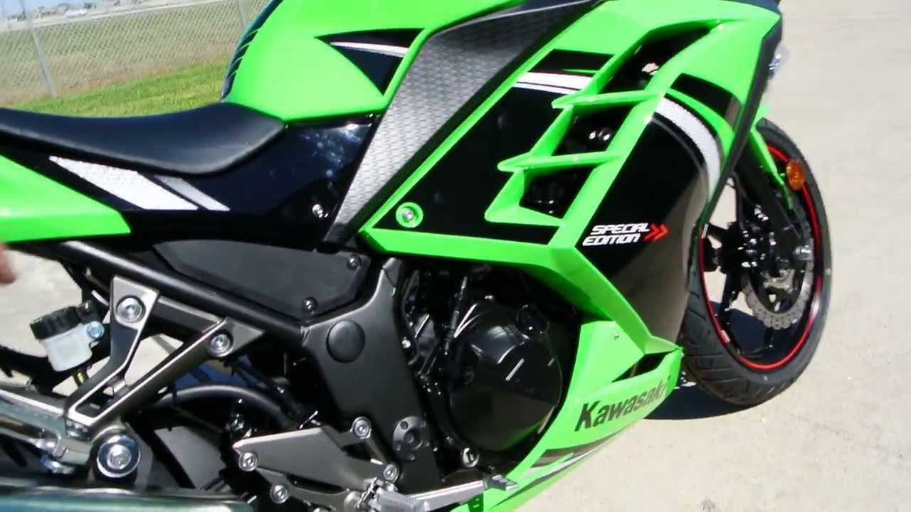 Sale 4499 2014 Kawasaki Ninja 300 Abs Special Edition Lime Green