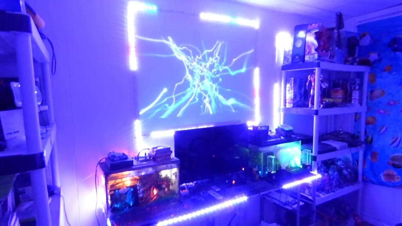 gaming led lights room screen 4k light