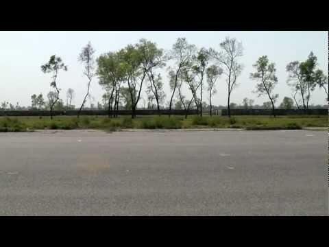 Air strip near Kushinagar
