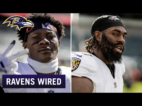 Hollywood Brown, Matthew Judon Mic'd Up At Eagles | Ravens Wired