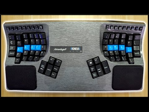 The ULTIMATE Ergonomic Mechanical Keyboard!