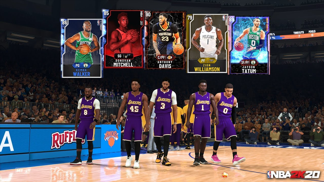 NBA 2K20: MyTEAM - YouTube