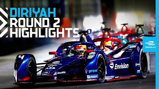 Race Highlights | 2021 Diriyah E-Prix Round 2 | SECOND NIGHT RACE!