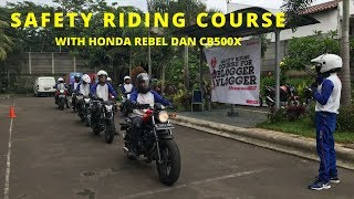 Download Video SAFETY RIDING COURSE : WITH HONDA CB 500X AND HONDA REBEL 500 (MOTOVLOG) MP3 3GP MP4