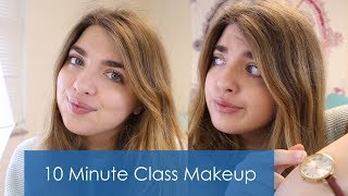My Everyday College Makeup Routine for Class // Under 10 Minutes