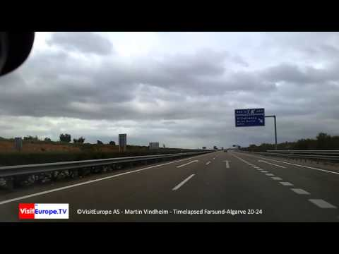 Norge Portugal 20 24 Driving Farsund-Algarve; Galaxy Note Video