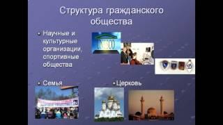 Презентация Гражданское общество и государство