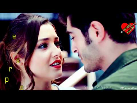 tera mera jahan | atif aslam | hayat and murat heart tuching video song