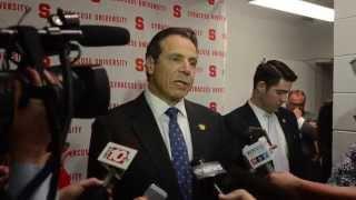 Gov. Andrew Cuomo at Syracuse University