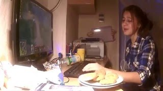 ЗОЖ - Здоровый образ жизни. Утренняя зарядка под песню Высоцкого. Видео 9В.