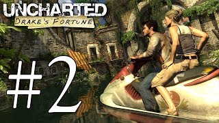 Uncharted Drake's Fortune Blind Playthrough - Part 2 (Let's Play Walkthrough Gameplay)