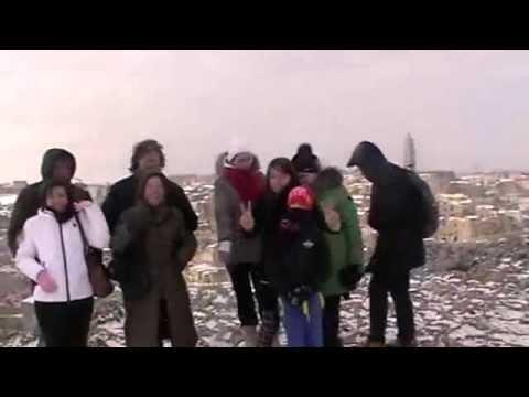 Escursione sotto la neve l'ultimo dell'anno