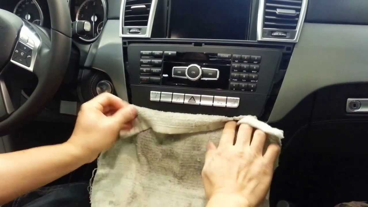 Mercedes E Radio Removal
