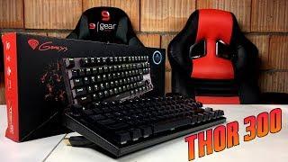 Genesis Thor 300 TKL - test, recenzja, review turniejowej klawiatury mechanicznej