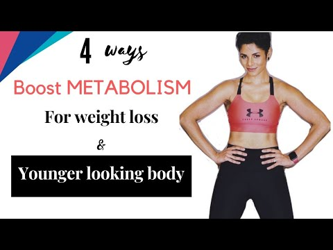 LOOK YOUNGER by CHANGING METABOLISM/ Lose Weight Fast4 tips