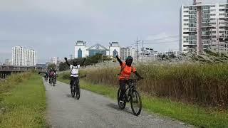 전주천-삼천-외목재(2021.10.04) 자전거 라이딩