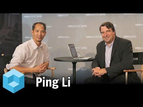 Ping Li, Accel Partners - #VMworld 2015 - #theCUBE