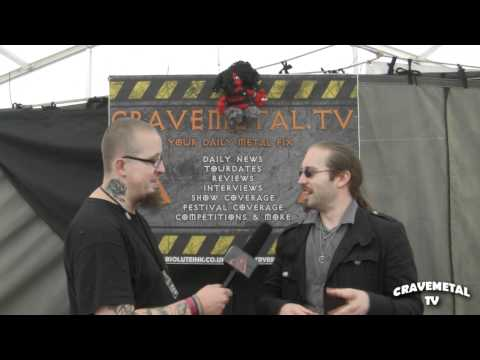 IMPERIAL VENGEANCE interview at Bloodstock Festival 2011 CRAVEMETALTV