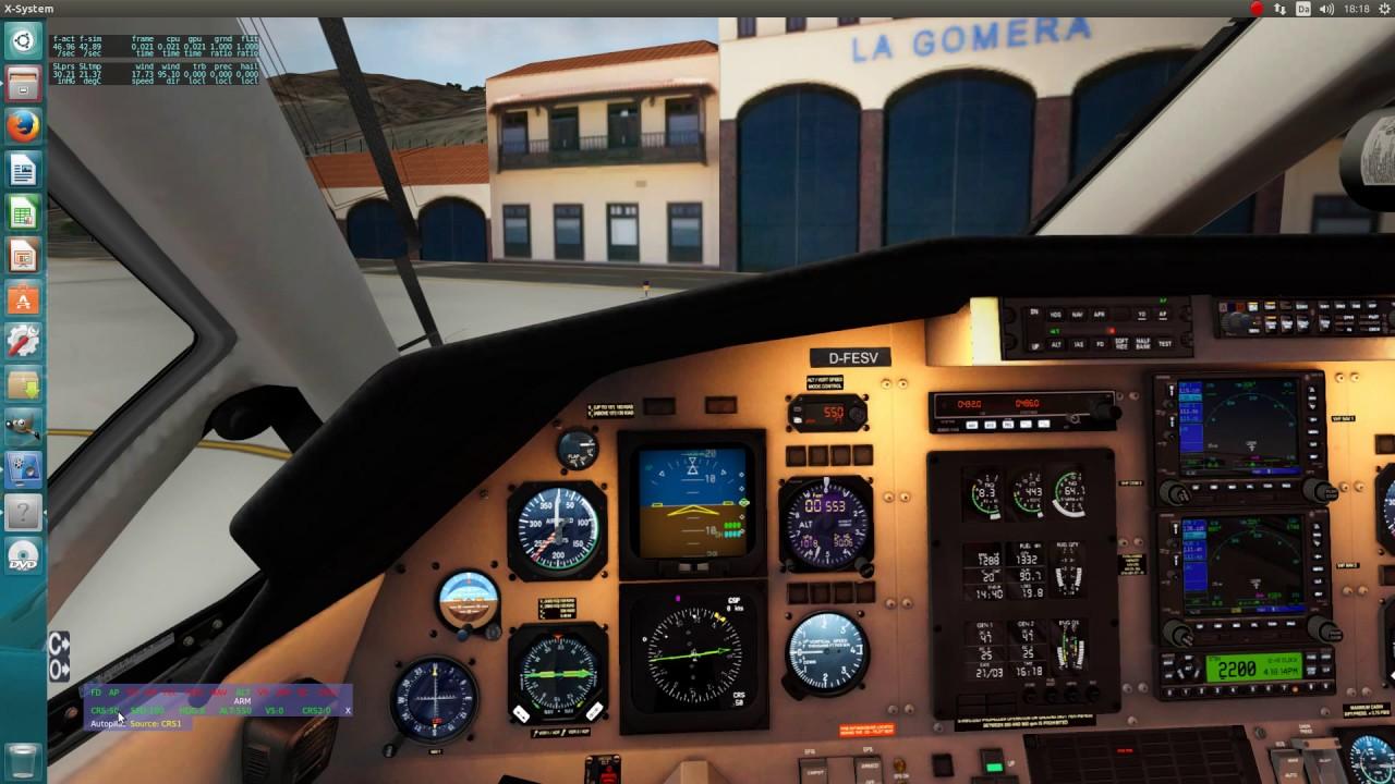X-Plane Universal Autopilot demo video