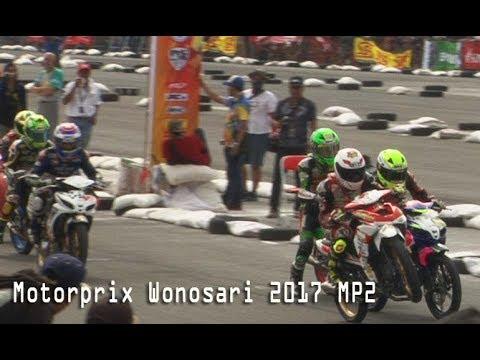 SERU PERSAINGAN TIM YAMAHA VS HONDA DI MP2 MOTOPRIX WONOSARI 2017