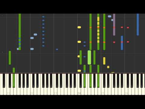 Ride / Twenty One Pilots (Instrumental keyboard animation)