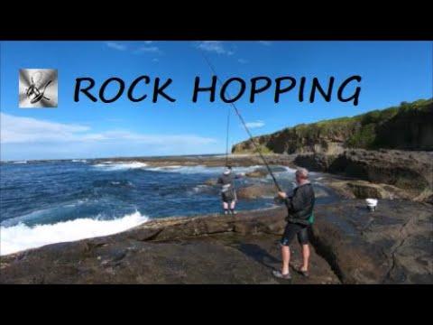 Fishing The Rocks Tough Day | Fishing & Cooking