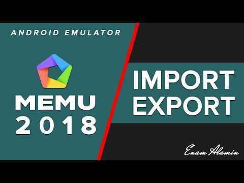 How To Import And Export File On MEmu Android Emulator | Share File | MEmu Play (2018)