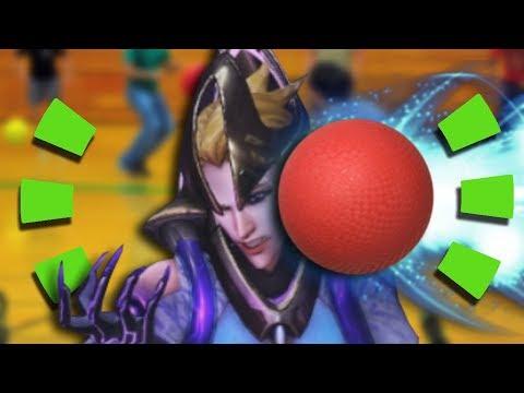 Overwatch - MOIRA DODGEBALL GAME MODE thumbnail