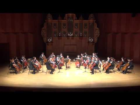 Samuel Barber - Adagio (KNUA CELLO ENSEMBLE)