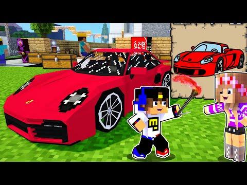 Майнкрафт но СЛОМАННЫЙ Мод на Рисование в Майнкрафте Троллинг Ловушка Minecraft