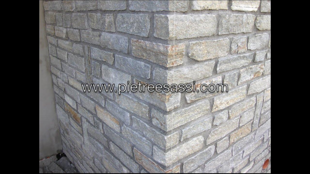 PIETREESASSI : muri in pietra - YouTube