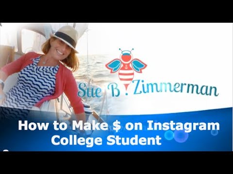 how to earn money on instagram how to make money on instagram college student youtube 117