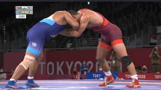 Tokyo Olympics 2020: Deepak Punia vs Myles Amine, Bronze Medal Match Highlights, Deepak Punia Loses