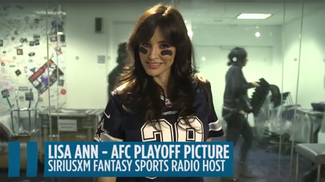 Lisa Ann's AFC Playoff Preview // SiriusXM Sports