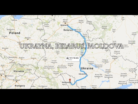 Travel with Selim: Ukrayna, Belarus ve Moldova