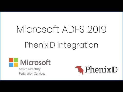PhenixID MFA adapter skyddar Microsoft ADFS 2019 - YouTube