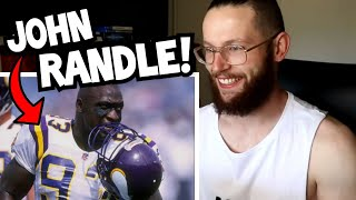 "Rugby Player Reacts to JOHN RANDLE ""The Craziest Man In NFL History"""